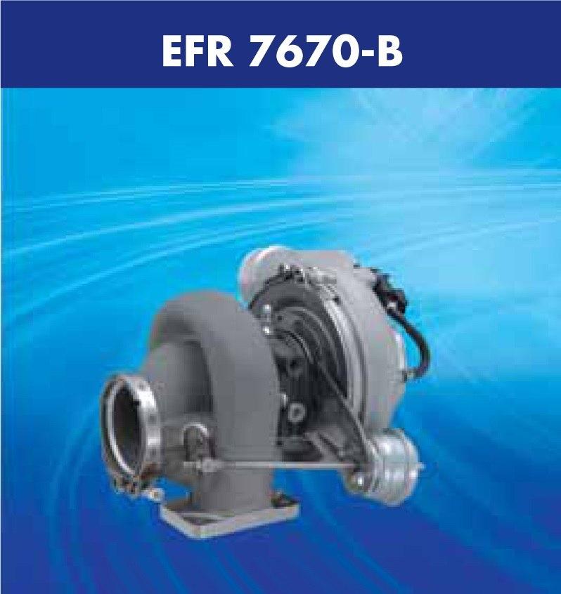 Turbosprężarka Borg Warner EFR-7670 - GRUBYGARAGE - Sklep Tuningowy